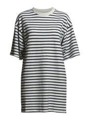 Jean dress - NAVYSTRIPE