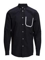 Dorset shirt - NAVYWHITE