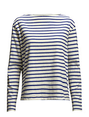 Adrien longsleeve - BLUE STRIP