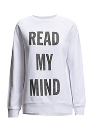 Manet sweatshirt - READWHITE