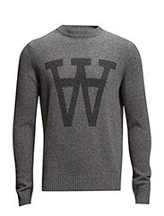 Yale sweater - GREY MELAN