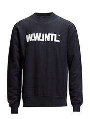 Larry sweatshirt - DKNAVYINTL