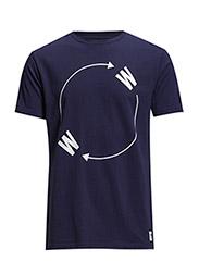 W_W_ T-shirt - PEACOAT