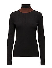 Joyce turtleneck - BLACK
