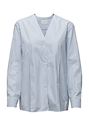 Debbie shirt - BLUE STRIPE