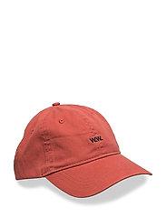 Low profile cap - BURNTRED