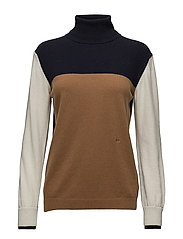 Isa turtleneck - COLORBLOCK