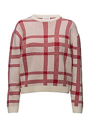 Caitlin sweater - RED
