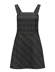 Anni dress - GREY CHECK