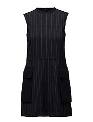 Emily dress - NAVYSTRIPE