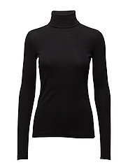 Rosalyn turtleneck - BLACK