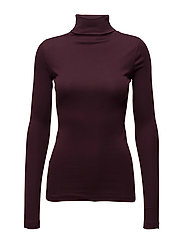 Rosalyn turtleneck - BURGUNDY