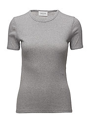 Fia T-shirt - GREY MELANGE