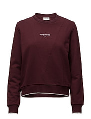 Mary-ann sweatshirt - BURGUNDY