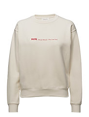 Tara sweatshirt - OFF WHITE