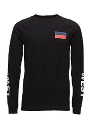 Han long sleeve T-shirt - BLACK