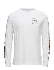 Han long sleeve T-shirt - WHITE