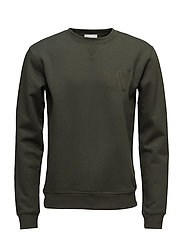 Houston sweatshirt - DARK GREEN