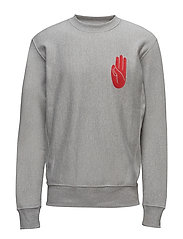 Larry sweatshirt - GREY MELANGE