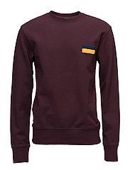 Parson sweatshirt - BURGUNDY