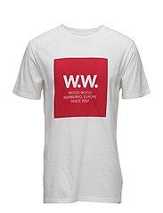 Ww Square T-Shirt Wood Wood T-shirts