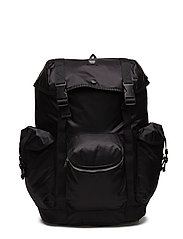 Mills backpack - BLACK