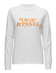 Halli long sleeve - BRIGHT WHITE