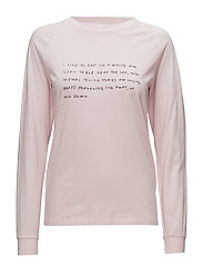 Halli long sleeve - LIGHT PINK