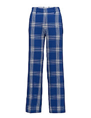 Petra trousers - BLUE CHECK