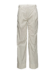 Marissa trousers - OFF-WHITE PINSTRIPE