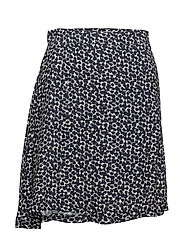 Macy skirt - FLORAL NAVY