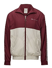 Homer Jacket - DARK RED/OFF-WHITE