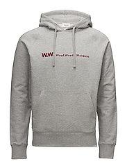 Raffi hoodie - GREY MELANGE