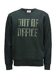 Hugh Sweatshirt - DARK GREEN