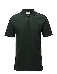 Bower polo - DARK GREEN