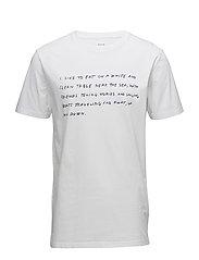 Near the Sea T-shirt - BRIGHT WHITE