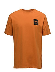 WW Box T-shirt - DARK ORANGE