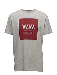 WW square T-shirt - GREY MELANGE