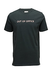 Out of Office T-shirt - DARK GREEN