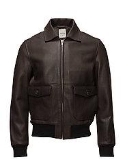 Dean jacket - DARK BROWN