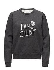 Flora sweatshirt - DARK GREY MELANGE