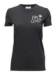 Eden T-shirt - DARK GREY MELANGE