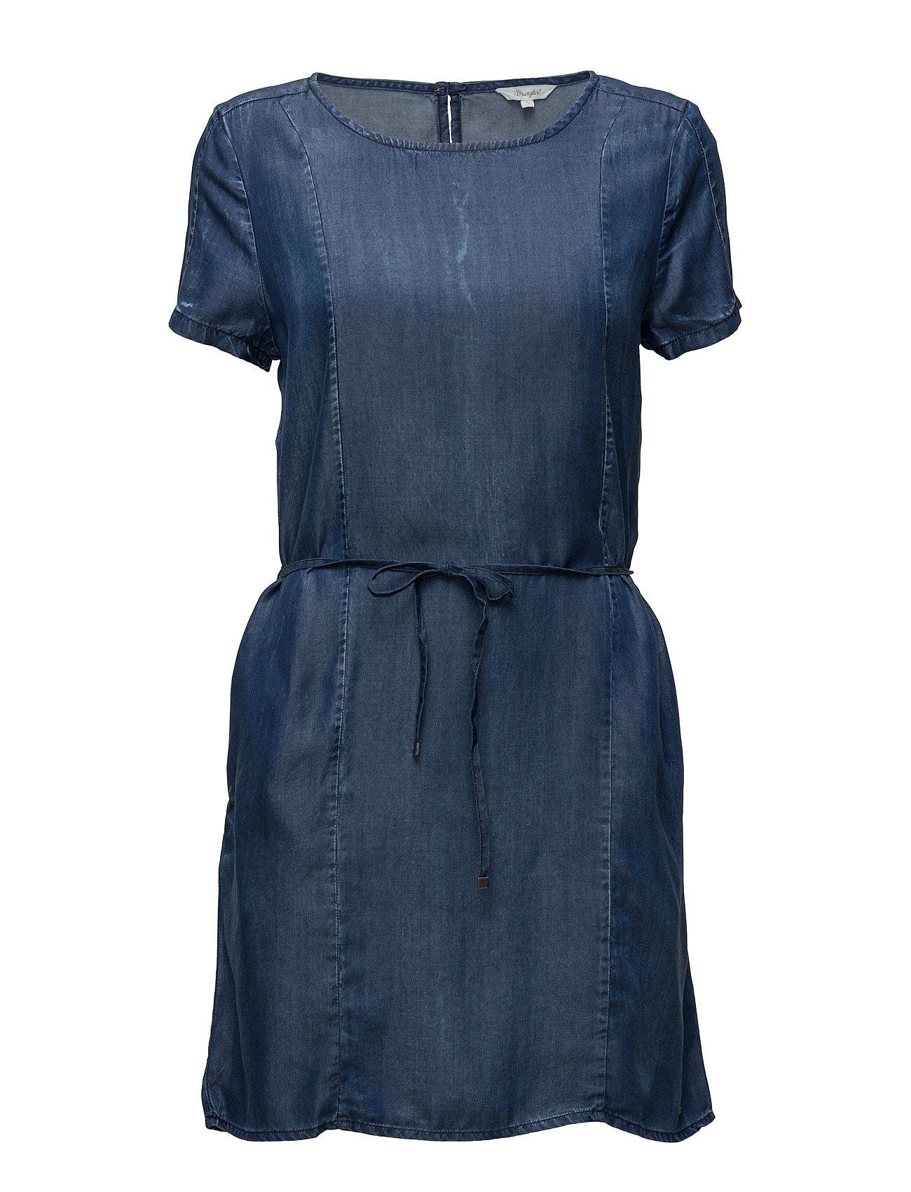 Shift Dress Mid Indigo Wrangler Korte kjoler til Damer i