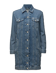 TRUCKER DRESS STONEWASH - STONEWASH