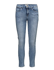HIGH RISE SKINNY BEST BLUE - BEST BLUE