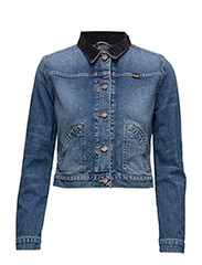 CROPPED JACKET - BLONDIE BLUE