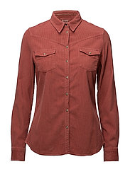 L/S CORDUROY SHIRT CANYON ROSE - CANYON ROSE