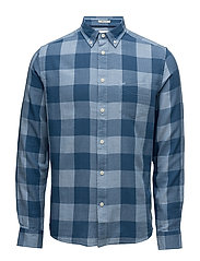 LS 1PKT BUTTON DOWN - CHAMBRAY BLUE