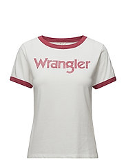 RETRO KABEL TEE JESTER RED - JESTER RED