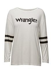 Wrangler - Ls Foil Tee